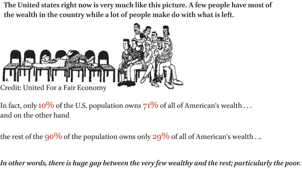 Outrageous Disparities: Young Peoples' Perspectives on Wealth