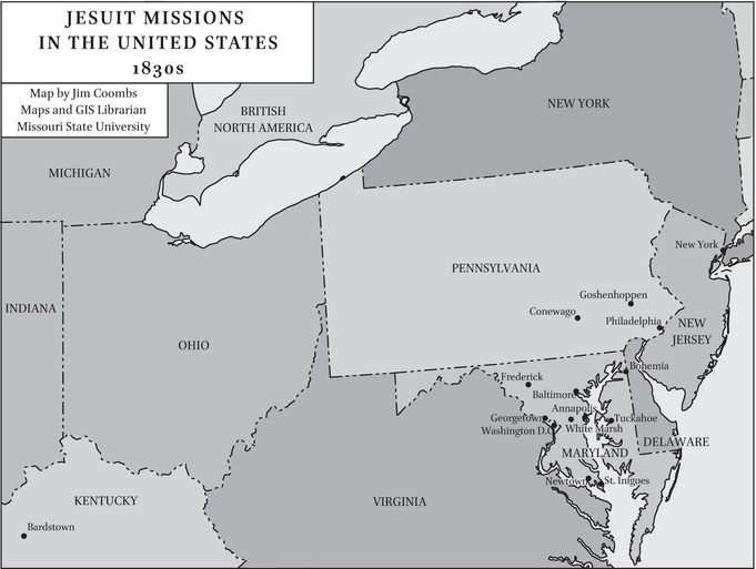 Peter Kenney: Twice Visitor of the Maryland Mission (1819–21 ... on ferguson on us map, frankfort on us map, reno on us map, cumberland on us map, st. augustine on us map, pittsburgh on us map, plano on us map, pasadena on us map, oakland on us map, greensboro on us map, juneau on us map, columbia on us map, pierre on us map, roanoke on us map, american samoa on us map, harrisburg on us map, jackson on us map, aberdeen on us map, durham on us map, fredericksburg on us map,