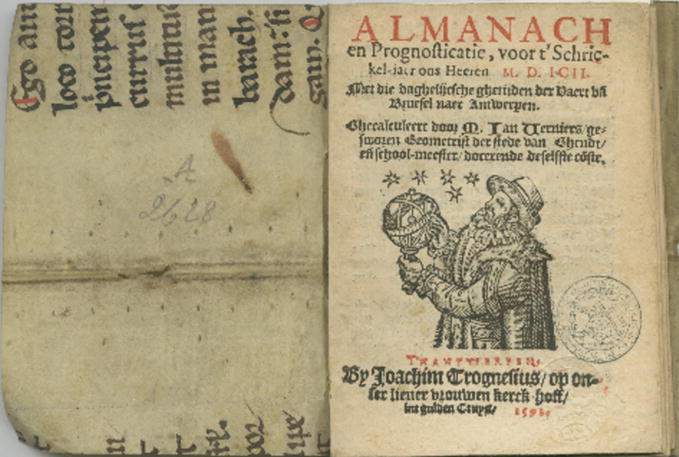 Almanac Production and the Antwerp Printing Community, 1588