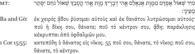 Stages Of The Greek Text Of Dodekapropheton Witnessed By The