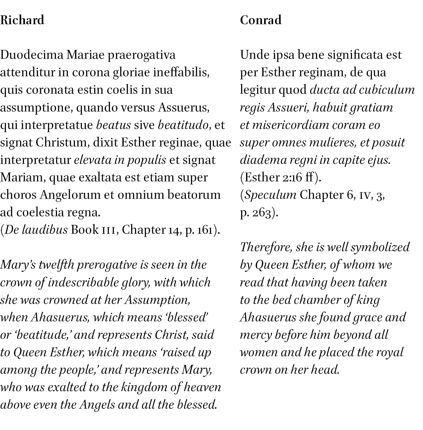 The Mariology of Conrad of Saxony (d  1279) as Presented in