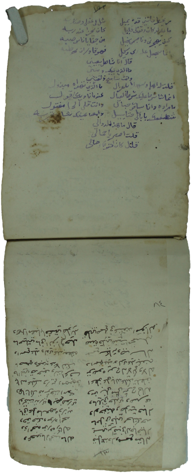 Les Safīnas Yéménites In In The Authors Hand Holograph