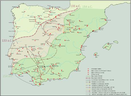 Urbanisation Of The Iberian Peninsula During The Roman