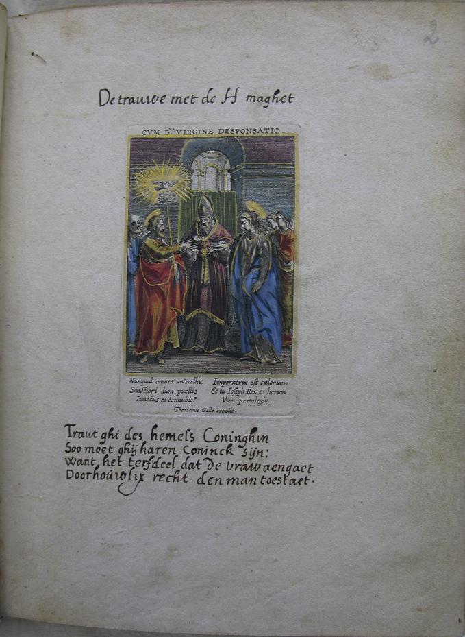 Chapter 2 Jesus, Mary, And Joseph As Artisans Of The Heart And Soul In  Manuscript MPM R 35 Vita S. Ioseph Beatissimae Virginis Sponsi Of Ca. 1600  In: Quid Est Secretum?