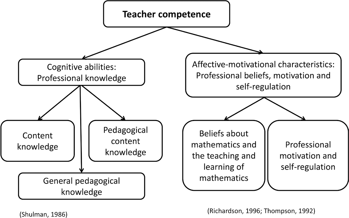 The Conception of Mathematics Knowledge for Teaching from an