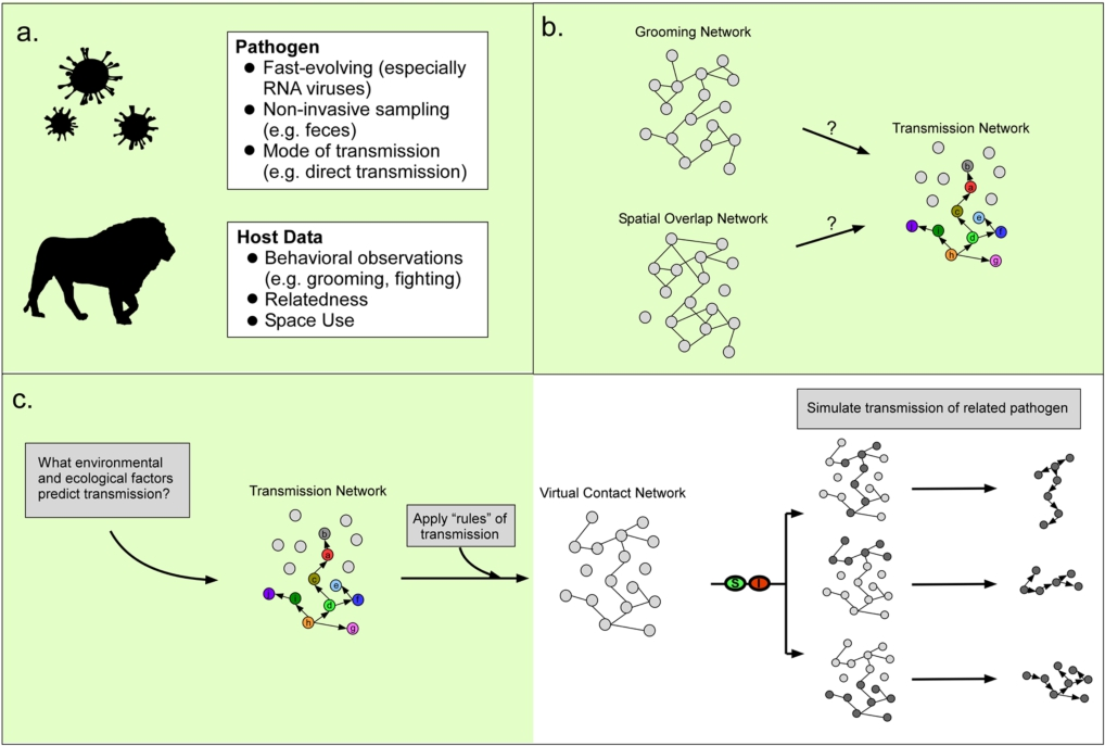 Incorporating genomic methods into contact networks to reveal new