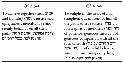 Love and Hate at Qumran: The Social Construction of