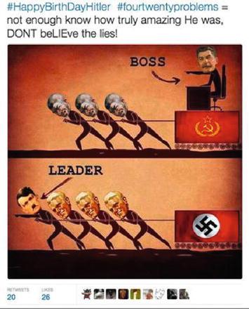 Fascism 2 0 Twitter Users Social Media Memories Of Hitler On His