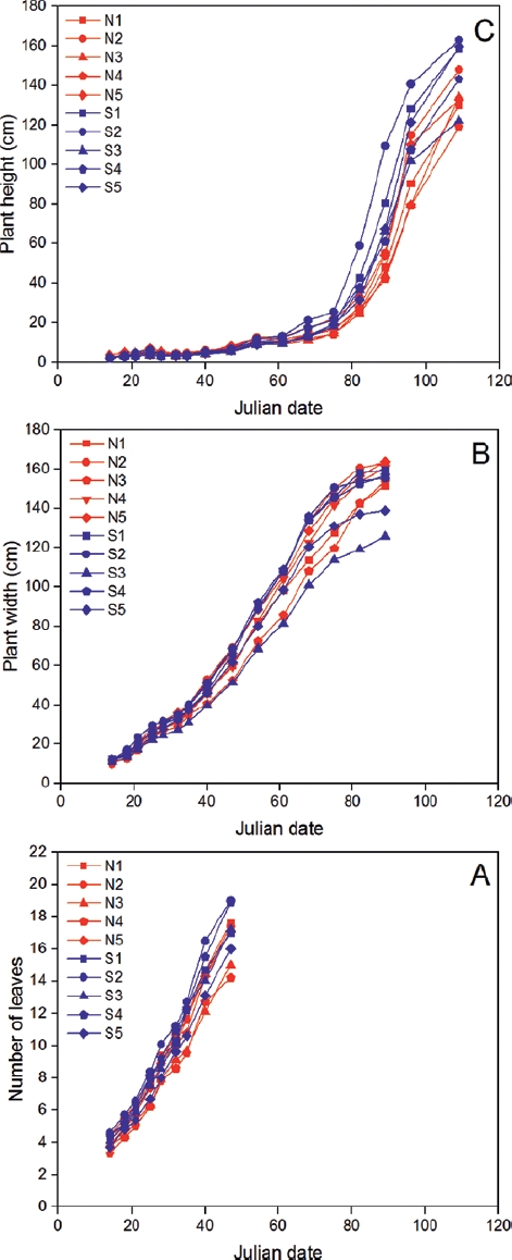 Adaptive variation in vegetative, reproductive and chemical