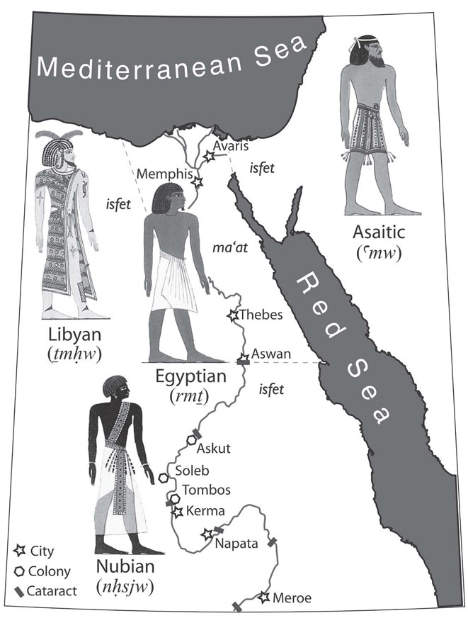 Life in Ancient Egypt Coloring Book (Dover History Coloring Book ...   872x661