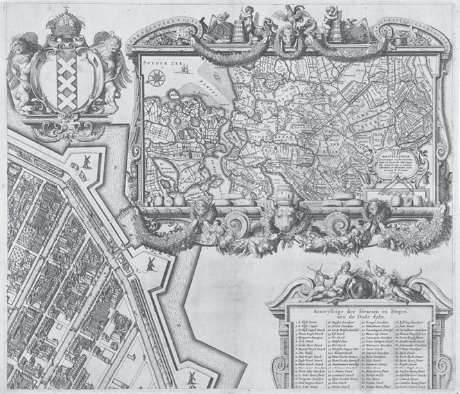 Mapping Angels in Early Modern Amsterdam in: Journal of