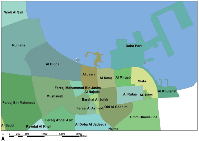 Mapping the Growth of an Arabian Gulf Town: The Case of Doha