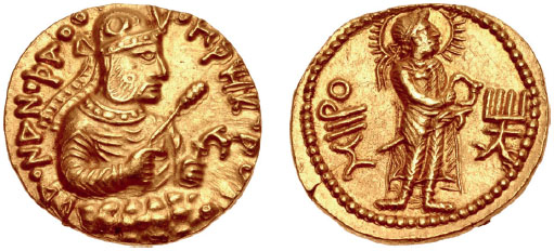 Royal Imagery on Kushan Coins: Local Tradition and Arsacid