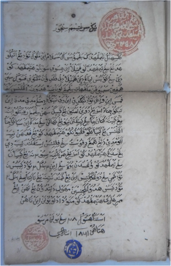 Islamic Manuscripts in the National Archives of the