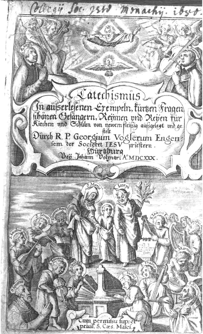 """Music and the Jesuit """"Way of Proceeding"""" in the German"""