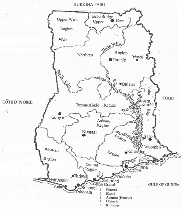 Brong Ahafo Region In Ghana