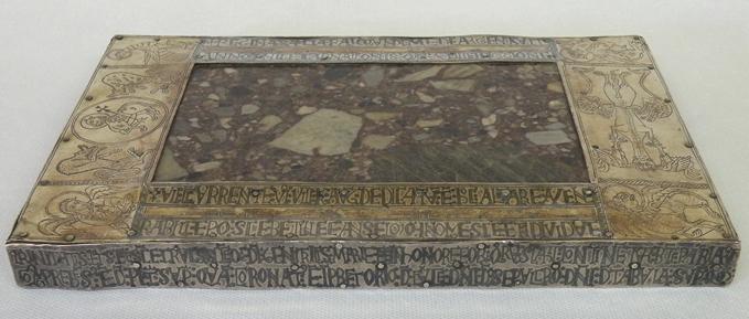 Portable Altar Of The Infanta Sancha, Front Edge