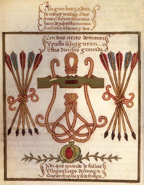 Page from Pedro Marcuello s Rimado de la Conquista de Granada  (1482) a6cc081e4af