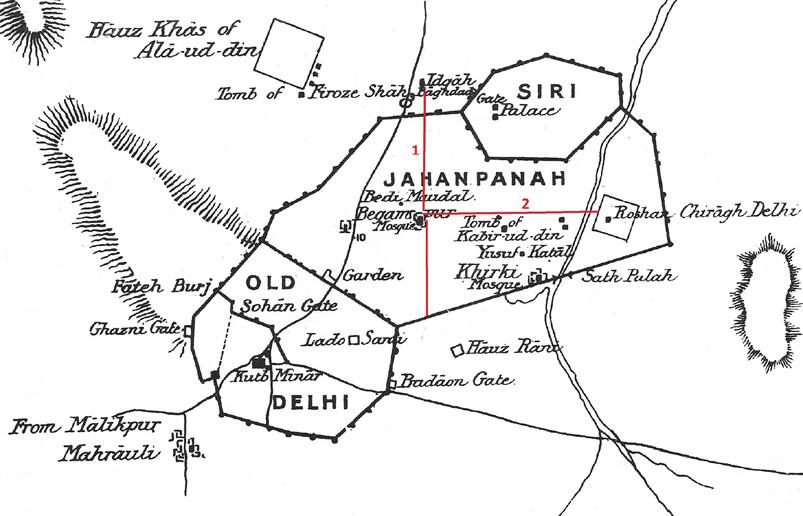 Jahanpanahs Jami Masjid Circa 1343 A Reassessment In Muqarnas