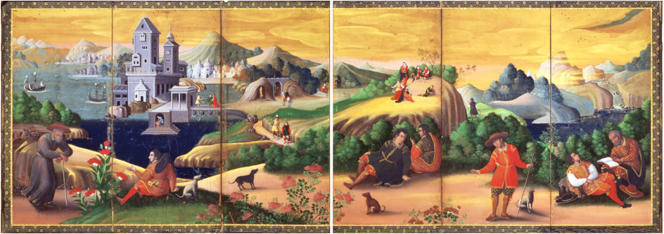 Depictions of the Journey to the Heavenly Realm in Early Modern