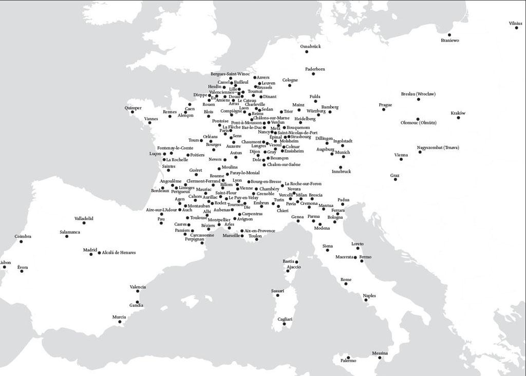 Jesuit Schools And Universities In Europe 1548 1773 In