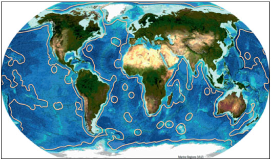 International Submarine Cables and Biodiversity of Areas